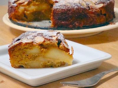 キャラメルアップルスパイスケーキ